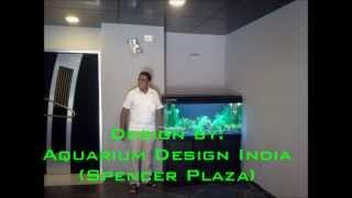 Artificial Planted Aquarium Design By Aquarium Design India (spencerplaza) For Stressbusterchennai