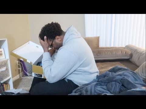 """GIVING HUSBAND FAKE KD's FOR HIS BIRTHDAY""! PRANK!!"
