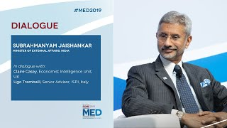 #Med2019 | Dialogue with Subrahmanyam Jaishankar