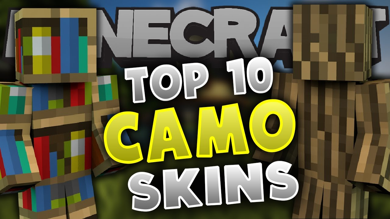 Top Minecraft CAMO SKINS Best Minecraft Skins YouTube - Camo skins fur minecraft
