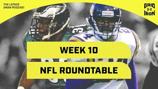 More Food Hot Takes & Robert Griffith Joins the NFL Roundtable!   The Lefkoe Show