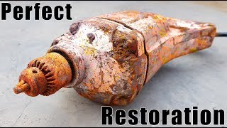 Antique Electric Cord Drill - UnBelievable Restoration