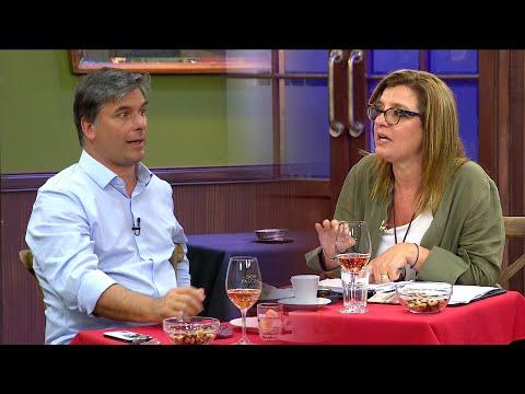 Dra. Alejandra Rey y el Psic. Roberto Balaguer