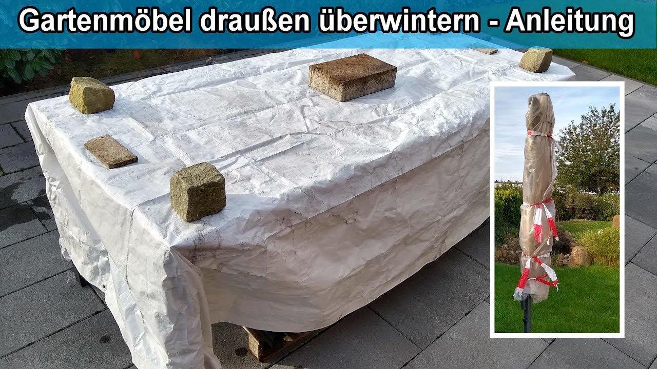 Gartenmobel Winterfest Machen Terrassenmobel Draussen Stehen Lassen Und Uberwintern Anleitung
