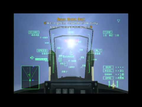 Let's Play Ace Combat 5: The Unsung War - 4 - White Bird (pt1)