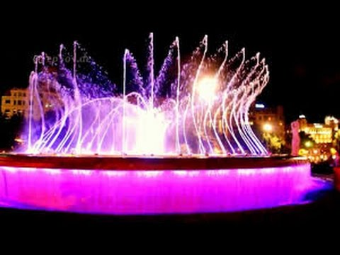 Awesome Dancing Water Fountain With Lighting