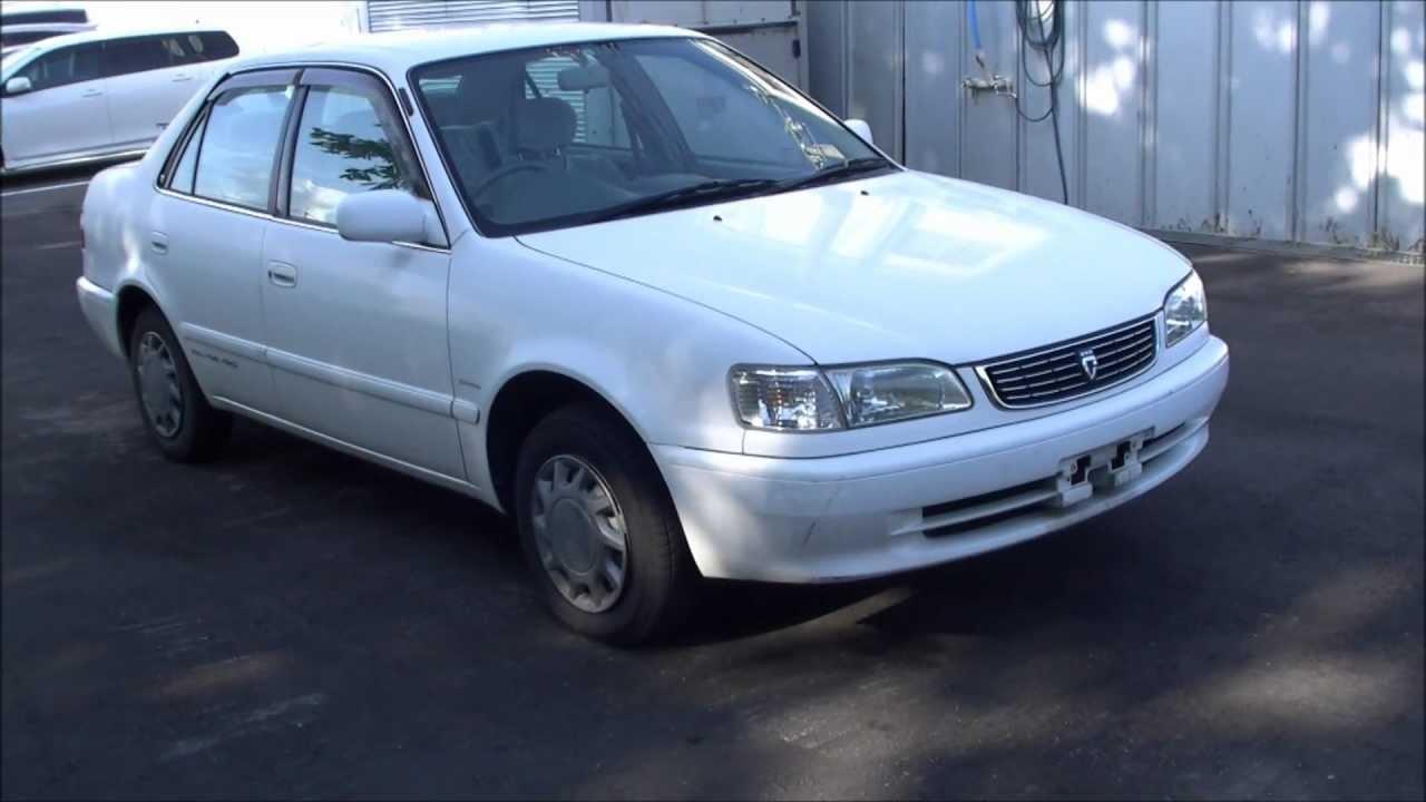 toyota carolla xe saloon 1998 no 270 youtube rh youtube com corolla 110 manual 210 Corolla