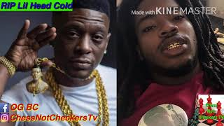 Rapper dies days after threatening Boosie's son on IG live(videos&reaction)