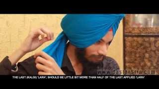 How to tie Morni Turban | Learn Morni Pagg | Online Pochvi Pagg | ਮੋਰਨੀ - ਪੋਚਵੀ ਪੱਗ | HD