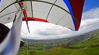 [360][VR] Hang Gliding (360 degree Virtual Reality) at Flowerdale, Australia