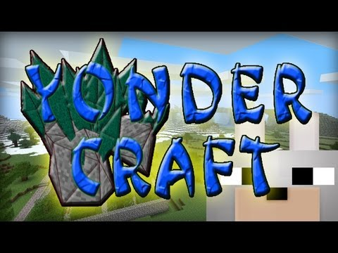 Minecraft Mods - YonderCraft 1.4.6 Review and Tutorial - Awesome Mod! - 300th Video!