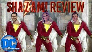 Shazam Spoiler Free Review DC Movie News!!!