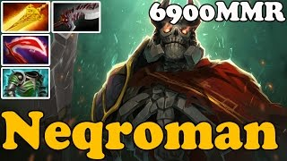 Dota 2 - Neqroman 6900 MMR Plays Wraith King - Ranked Match Gameplay