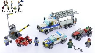 Lego City 60143 Auto Transport Heist - Lego Speed Build Review