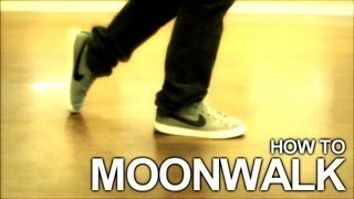 Learn the MOONWALK in a few easy steps!