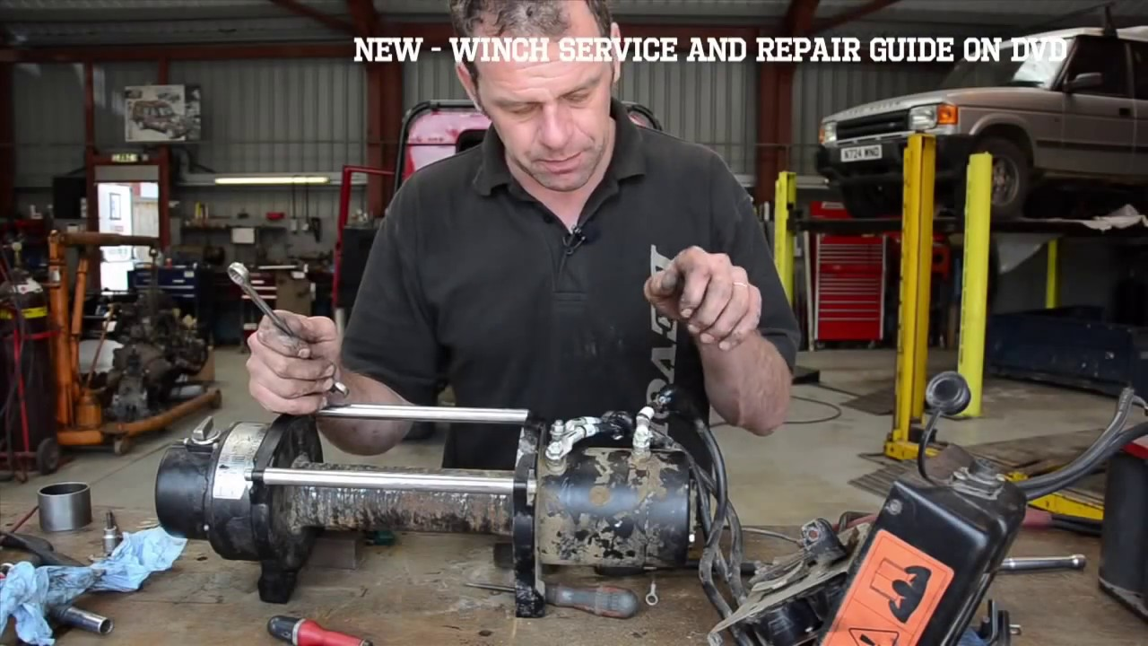 medium resolution of 4x4 winch service and repair guide dvd