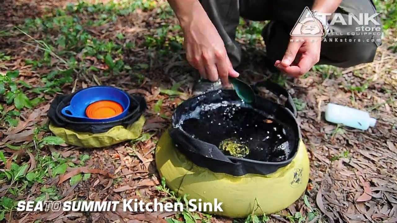 Sea to Summit Kitchen Sink - YouTube