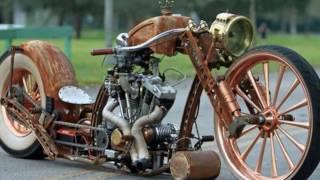 les plus belle moto bike rat ... rats steampunk .. ( harley davidson ) ...