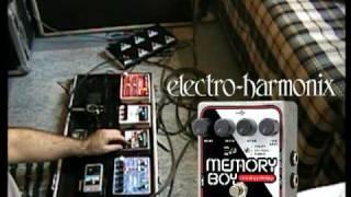 EHX- Memory Boy - Analog Delay, Chorus, Vibrato