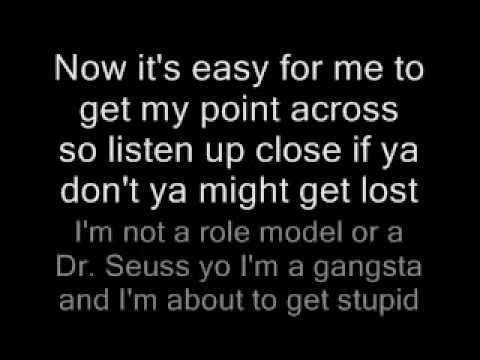 Eazy E - Eazy-Er Said Than Dunn Lyrics