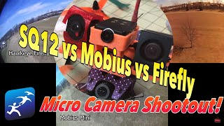 Micro Camera Shootout!  Which one is best? Hawkeye Firefly vs Mobius Mini vs SQ12