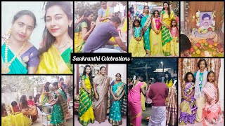 #Vlog || Sankranthi Celebrations || AshaSudarsan Telugu Vlogs