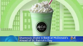 Shamrock Shake Is Back!