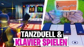 TANZDUELL & AUF KLAVIEREN SPIELEN | Woche 2 Season 7 Challenge | Fortnite Battle Royale
