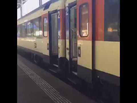 Eurojolly 2017 - 16:07 Basel to Zürich :: Swiss EuroCity EC9