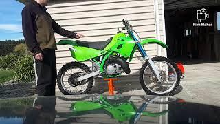1991 Kawasaki KX/KDX 250 full rebuild
