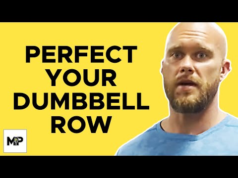 The BEST Form for One-Arm Dumbbell Row | Ben Pakulski
