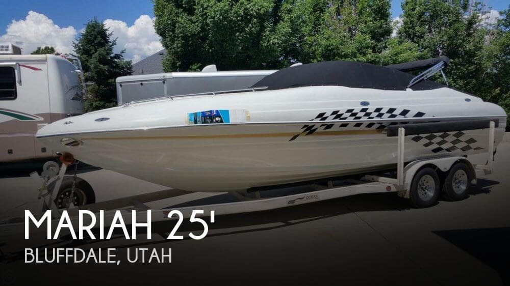 SOLD: Mariah 250Z Shabah Performance boat in Bluffdale, UT | 079143POP Yachts