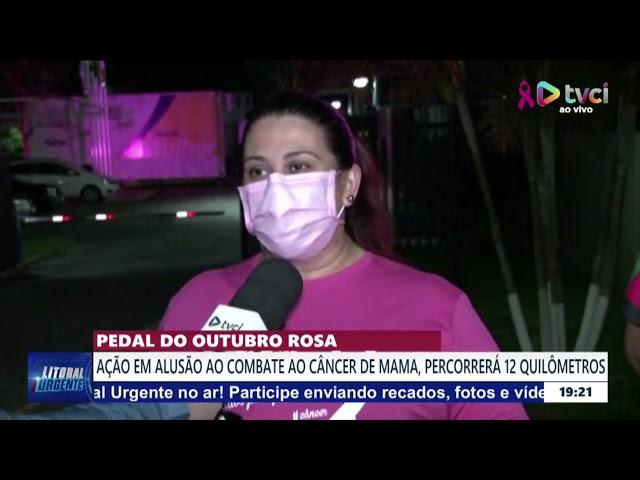 Pedal do outubro rosa: Ação em alusão ao combate ao câncer de mama, percorrerá 12 quilômetros