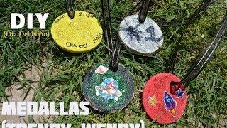DIY - Medallas  (Dia del Niño) Thumbnail