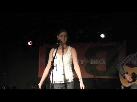 """Kelly Barnett """"Hey Ho"""" by the Lumineers at Brick B..."""