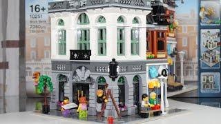 LEGO Creator 2016 Set 10251 Brick Bank Unboxing & Review deutsch german