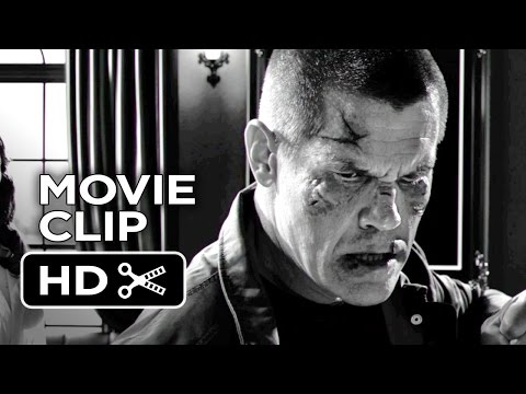 Sin City: A Dame To Kill For Movie CLIP - Killing An Innocent Man (2014) - Josh Brolin Movie HD