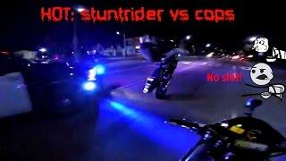 FUCK THE POLICE: biker vs cops 2015 HD
