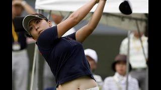 女子ゴルフ:中京テレビ・ブリヂストンレディース  最終日  24日 優勝は吉田弓美子、二位にジョンジェウン。アマチュアの稲見萌寧は10位。