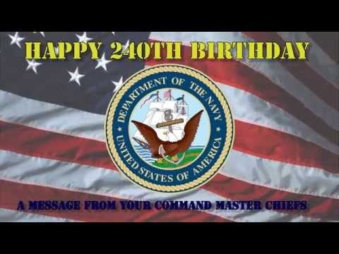 2015 Navy Birthday Message from Joint Region Marianas and U.S. Naval Base Guam Command Master Chiefs