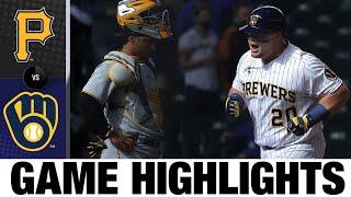 Pirates vs. Brewers Game Highlights (4/18/21) | MLB Highlights
