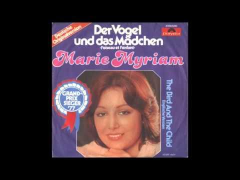 Marie Myriam - Der Vogel und das Mädchen (Der Vogel und das Kind) ESC 1977