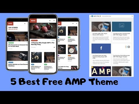 5 Free AMP ADS Ready Themes For Blogger