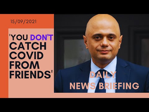 Coronavirus: Sajid Javid says it's fine for Tory MPs not to wear masks - UK NEWS BRIEFING