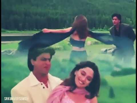 Shahrukh Khan And Madhuri Dixit Dil To Pagal Hai Dholna Whatsapp Status Valentine's Day Special