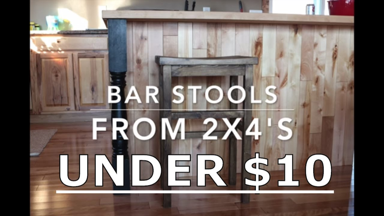 DIY BAR STOOL with plans  YouTube