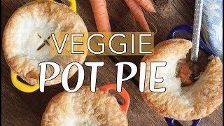 VEGAN POT PIE | Vegan Chicken Pot Pie | The Edgy Veg
