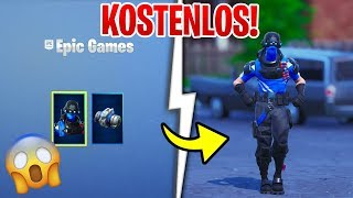 😱 OMG ER IS DA! FREE KOHLEFASERKOMMANDO SKIN in FORTNITE