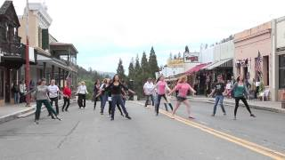 A Flash Mob Takes Over Downtown Mariposa, California