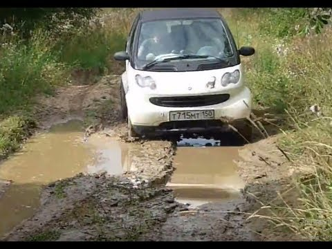 smart fortwo offroad test